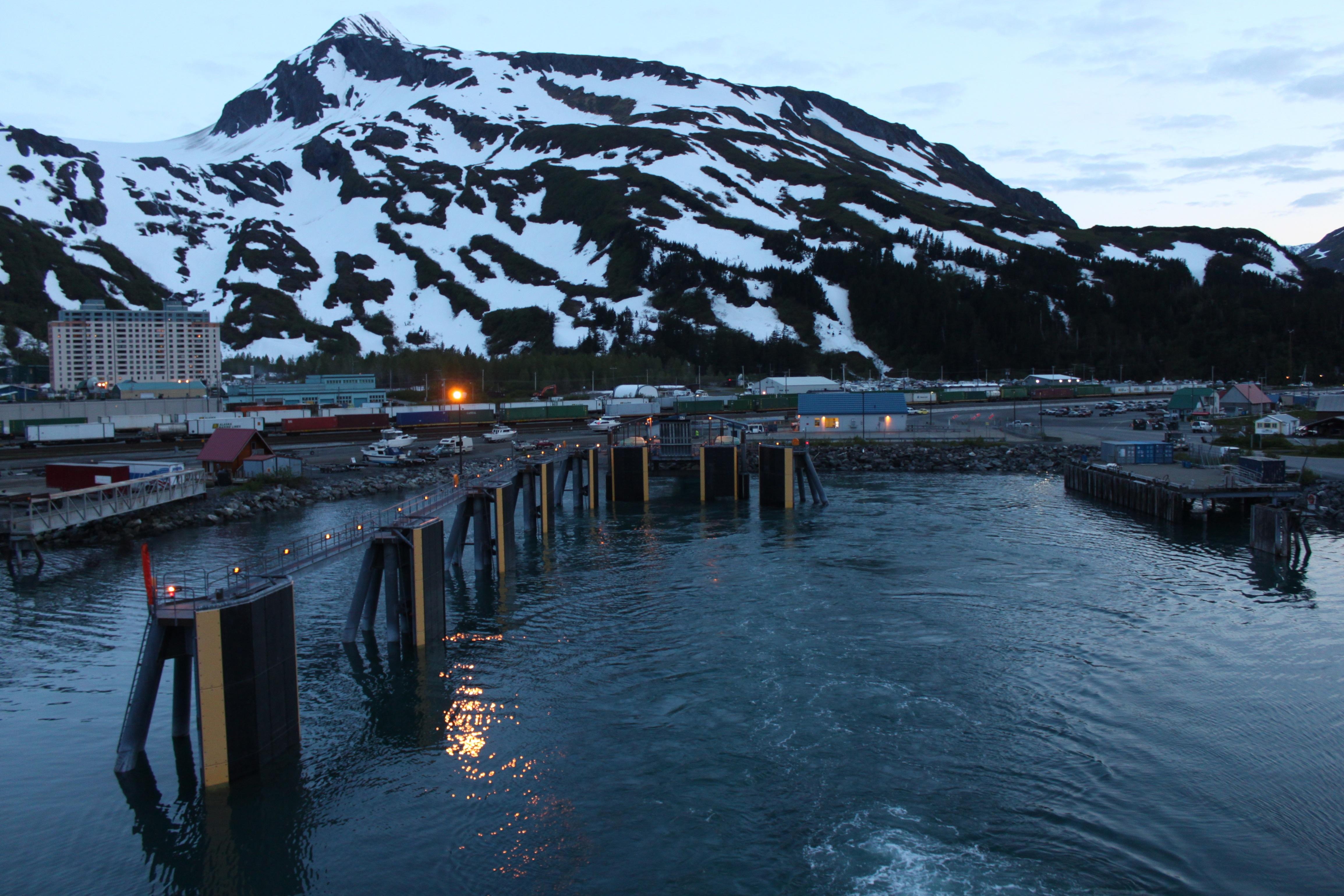 Alaska Marine Highway: Departing Whittier, Alaska